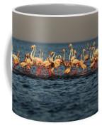 Flamingos On Lake Turkana Outside Elyse Coffee Mug