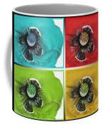 Flanders Poppy Pop Art Coffee Mug