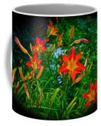 Flashes Of Garden Fire Coffee Mug