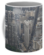 Flat Iron From Above Nyc Coffee Mug