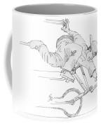 Flatland Bmx Nose Wheelie Coffee Mug