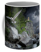 Fleeing The Coming Storm Coffee Mug