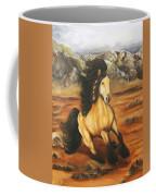 Fleeing  The  Storm Coffee Mug