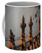 Fleur-de-lis - Cast Iron Coffee Mug