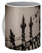 Fleur-de-lis - Monochrome Coffee Mug