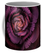 Fleur Pourpre Coffee Mug by John Edwards