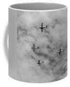 Flight Of Four Coffee Mug