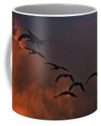 Flight Of The Cranes Coffee Mug