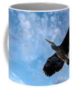 Flight Of The Heron Coffee Mug