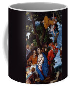 Flight To Egypt With Angels Coffee Mug