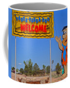 Flinstones Bedrock City In Arizona Coffee Mug