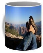 Flip Flop View Coffee Mug