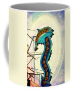 Flippers Facination - Wildwood Boardwalk Coffee Mug by Bill Cannon