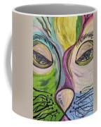 Flirty Feline ... Cat Eyes Coffee Mug