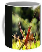 Flirty Mantis Coffee Mug