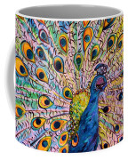 Flirty Peacock Coffee Mug