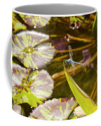 Flittering Dragonfly Coffee Mug