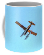 Float Plane Fly Over Pacific Northwest Coffee Mug