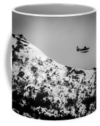 Float Plane Over The Mountain Coffee Mug