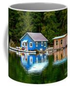 Floating Cabin Coffee Mug
