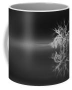 Floating Deadwood Black And White Coffee Mug