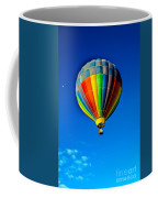 Floating Free In A Hot Air  Balloon Coffee Mug