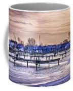 Floating Homes At Bluffers Park Marina Coffee Mug