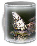 Floating In Water - Swallowtail -butterfly Coffee Mug
