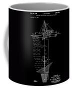 Floating Oil Rig Patent Coffee Mug