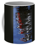 Floating On Blue 14 Coffee Mug