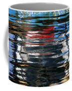 Floating On Blue 19 Coffee Mug