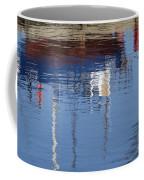 Floating On Blue 21 Coffee Mug