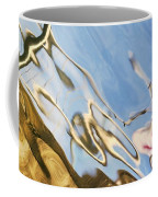 Floating On Blue 29 Coffee Mug