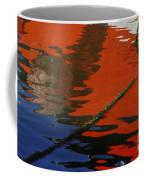 Floating On Blue 26 Coffee Mug