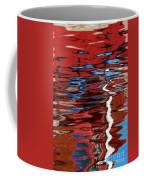Floating On Blue 28 Coffee Mug