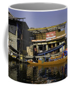 Floating Shop Along With Another Shop On Floats In The Dal Lake Coffee Mug