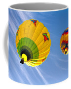 Floating Upward Hot Air Balloons Coffee Mug