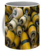 Floats Used In Crab Fishing Coffee Mug