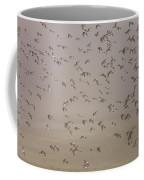 Flock Of Plovers Coffee Mug