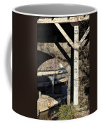 Flood Height Sign At Ellicott City Maryland Coffee Mug