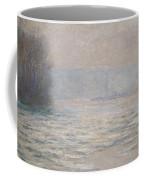 Floods On The Seine Near Bennecourt Coffee Mug by Claude Monet