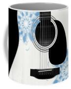 Floral Abstract Guitar 25 Coffee Mug