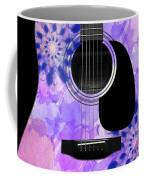 Floral Abstract Guitar 27 Coffee Mug