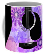 Floral Abstract Guitar 29 Coffee Mug