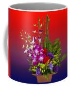 Floral Arrangement Coffee Mug by Chuck Staley