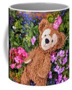 Floral Bear Coffee Mug
