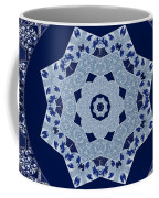 Floral Flow Blues Coffee Mug