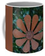 Floral Metal Art Coffee Mug