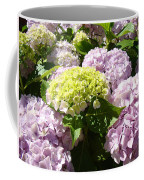 Floral Pink Lavender Hydrangea Garden Art Prints Coffee Mug