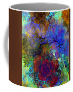 Floral Psychedelic Coffee Mug